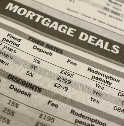 Mortgage loan amortization calculation