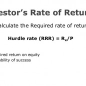 Definition Hurdle Rate in Real Estate