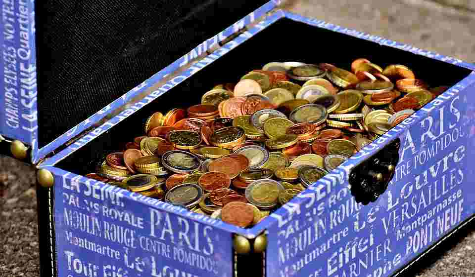 Collecting coins to make money
